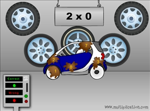 Multiplication Com Games Car Wash