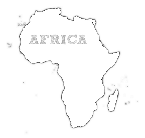 africa map coloring pages - photo#21