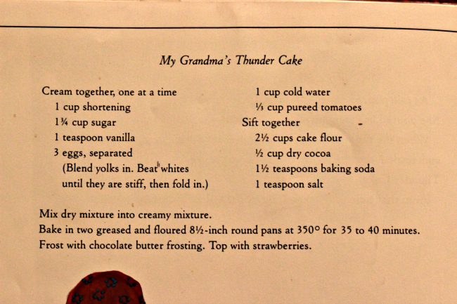 ... her Grandmother's Thunder Cake Recipe at the back of the book: www.multiplication.com/our-blog/jen-wieber/thunder-cake-book-and...