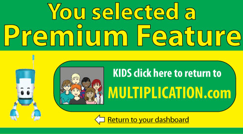 MULTIPLICATION Self-Corrected Quizzes with Quiz Navigator