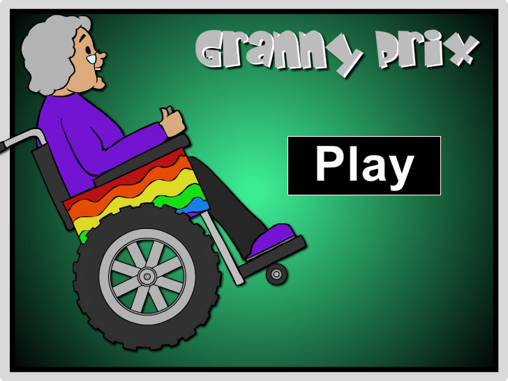 Granny Prix Multi-Player - Free Online Math Game