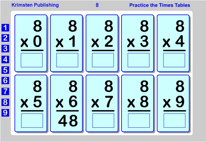 Flash Fun Free Online Math Game Multiplication
