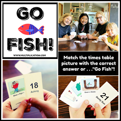 image about Printable Go Fish Cards known as Move FIsh Card Recreation for Occasions Desk Educate