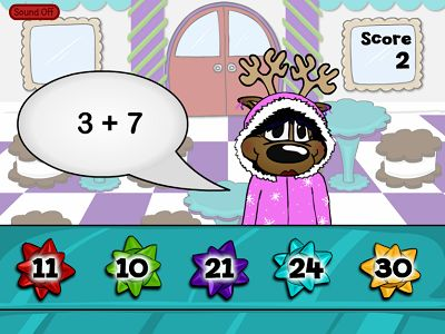 Sell Cookie Tin Bows in Reindeer Cafe Addition | Multiplication.com