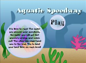 Welcome to Aquatic Speedway Addition | Multiplication.com
