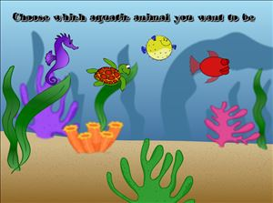 Pick Your Sea Creature in Aquatic Speedway Subtraction | Multiplication.com
