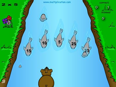 Catch the Right Fish in Baxley the Bear | Multiplication.com