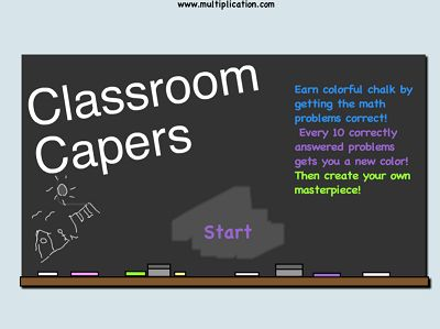 Welcome to Classroom Capers | Multiplication.com