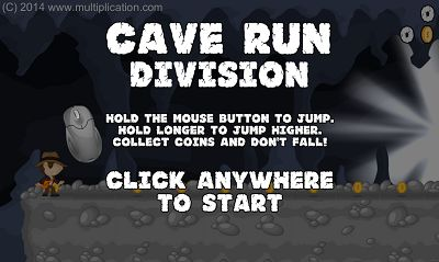Welcome to Cave Run Division | Multiplication.com