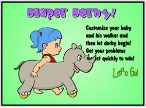Welcome to Diaper Derby Multiplayer Addition | Multiplication.com