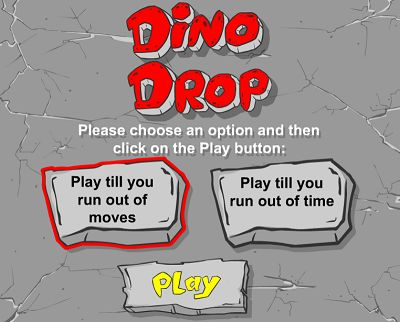 Choose a Game Style in Dino Drop | Multiplication.com