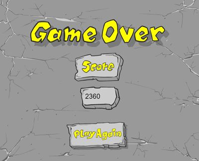 Game Over in Dino Drop | Multiplication.com