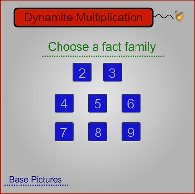Choose a Fact for Dynamite Multiplication | Multiplication.com