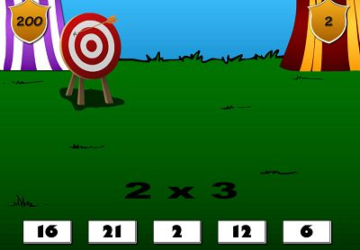 Solve the Facts to hit the Target in Edgemoor Tournament | Multiplication.com