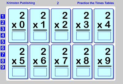 Use the Flashcards to Practice the Facts in Flash Fun | Multiplication.com