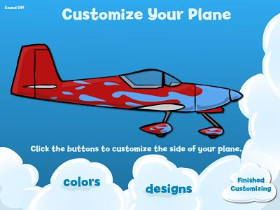 Customize Your Plane in Flying High Multiplication | Multiplication.com