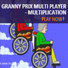 Games the teach Fluency - Granny Prix