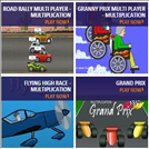 Games to teach the times tables - Multi Player