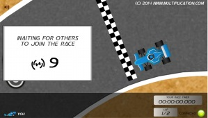 Prepare to Race in Math Speedway Challenge Division | Multiplication.com