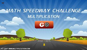 Welcome to Math Speedway Challenge Multiplication | Multiplication.com