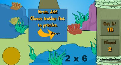 Catch as Many Fish as you can in Jungle Jim Goes Fishing | Multiplication.com