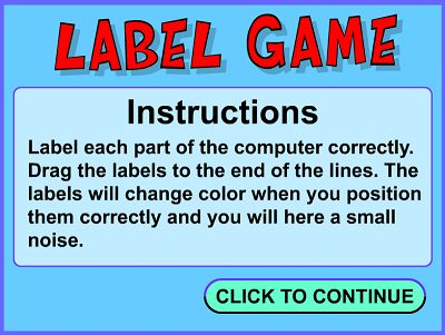 Welcome to Label Game | Multiplication.com