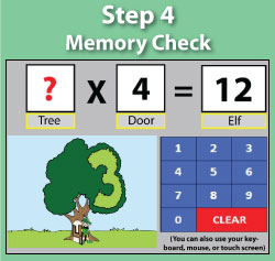 Memory Check - Multiplication.com