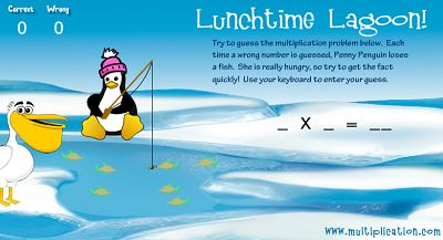 Welcome to Lunchtime Lagoon | Multiplication.com