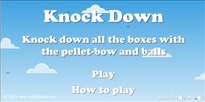 Welcome to Multiplication Knock Down | Multiplication.com