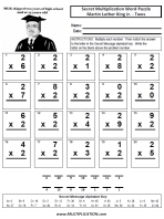 Free Martin Luther King Jr Multiplication Worksheets