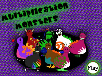 Welcome to Monster Multiplication | Multiplication.com