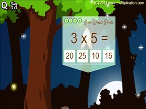 Solve the Facts in Pixie Catcher Multiplication | Multiplication.com