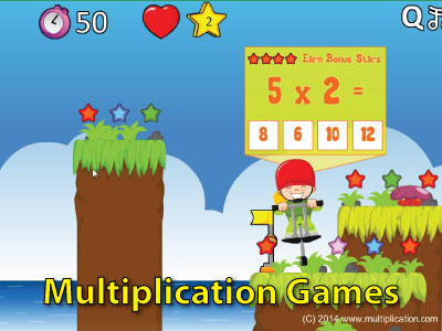 Online Multiplication Games