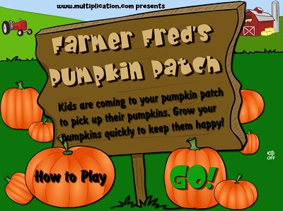 Welcome to Farmer Fred's Pumpkin Patch | Multiplication.com