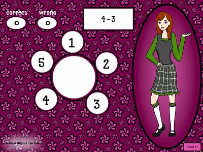 Solve Problems in Math Models Subtraction | Multiplication.com