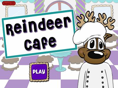 Welcome to Reindeer Cafe Subtraction | Multiplication.com