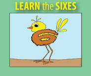 Resources to Teach the Sixes
