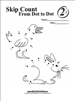 Free Skip Counting Multiplication Worksheets ...