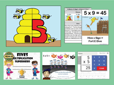 Activities that help kids remember the multiplication facts