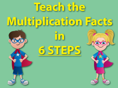 Teach the Multiplication Facts in 6 Steps