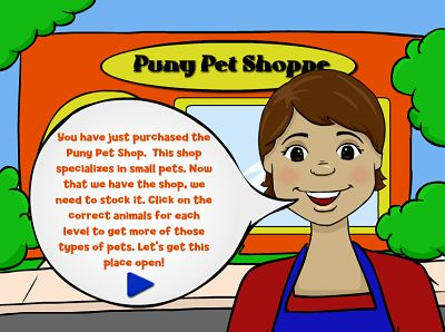 Welcome to The Puny Pet Shop | Multiplication.com