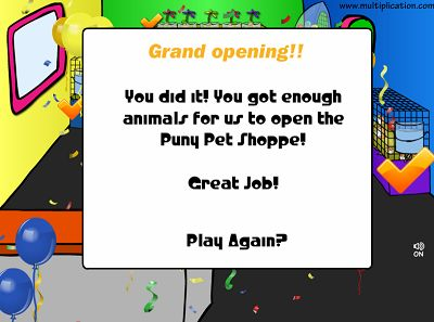 You Opened The Puny Pet Shop | Multiplication.com