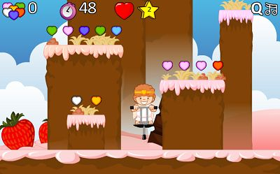 Bounce your way to the Top in Valentine Pogo | Multiplication.com