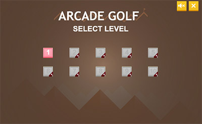 Instructions in Arcade Golf Multiplication | Multiplication.com