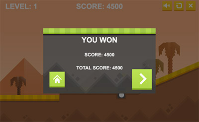 Game over in Arcade Golf Multiplication | Multiplication.com