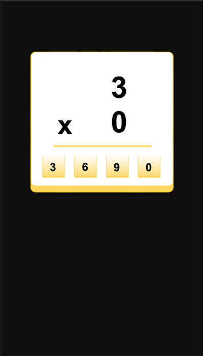 Answer 4 math equations to move forward in Ball vs Blocks Subtraction | Multiplication.com