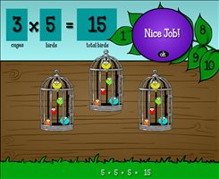 Solve the Problems in Bird Haven | Multiplication.com