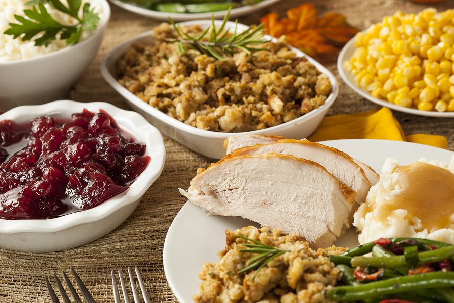buying thanksgiving dinner