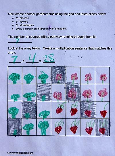 Garden Patch Fractions