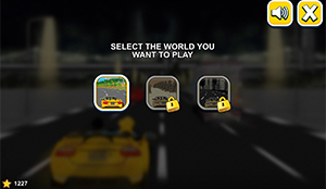 Choose world in Car Rush Multiplication | Multiplication.com